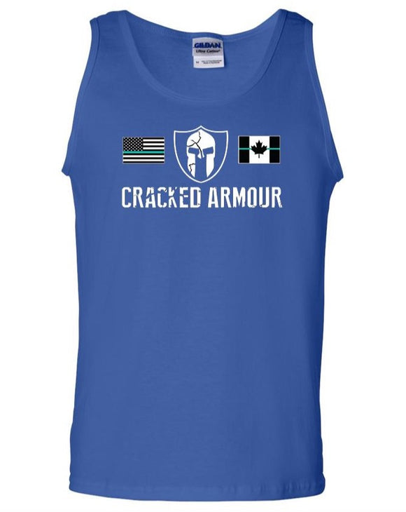 Men's Tank Top, Blue - CLEARANCE