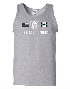 Men's Tank Top, Grey - CLEARANCE