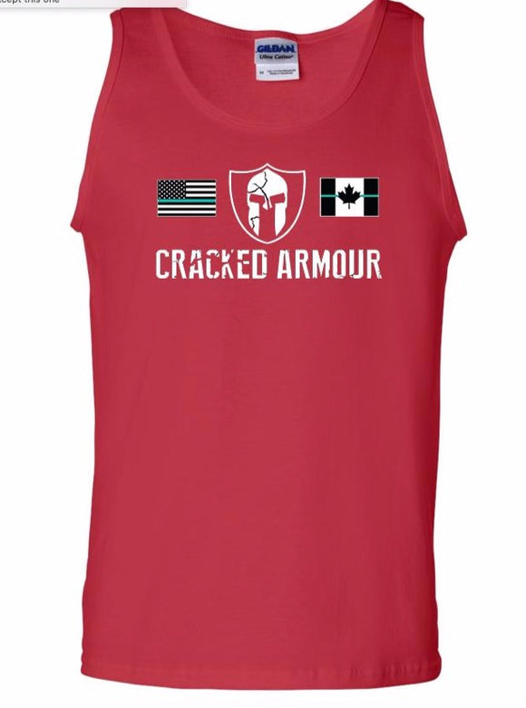 Men's Tank Top, Red - CLEARANCE