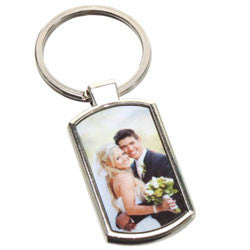 Personalized  Key ring Rectangle