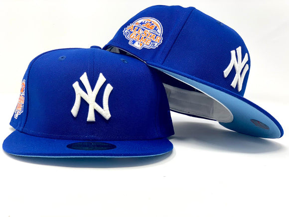 NEW YORK YANKEES 2013 ALL STAR GAME ROYAL ICY BRIM NEW ERA FITTED HAT