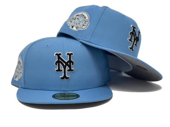 NEW YORK METS 2013 ALL STAR GAME SKY BLUE CONCRETE CENMENT BRIM NEW ERA FITTED HAT