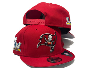 TAMPA BAY BUCCANEERS  55TH SUPER BOWL NEW ERA SNAPBACKS HAT