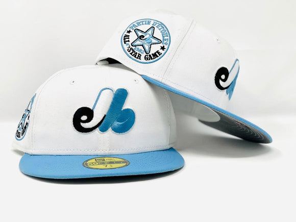 MONTREAL EXPOS 1982 ALL STAR GAME 3M REFLECTIVE  BRIM NEW ERA FITTED HAT
