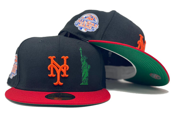 NEW YORK METS 2013 ALL STAR GAME GREEN BRIM NEW ERA FITTED HAT