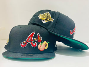 "OFFSET * NEW ERA * ATLANTA BRAVES "" DO IT FOR THE CULTURE"" BLACK FITTED HAT"