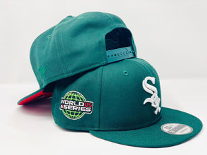 "CHICAGO WHITE SOX  2005 WORLD SERIES ""WATERMELON COLORWAYS"" NEW ERA SNAPBACK"