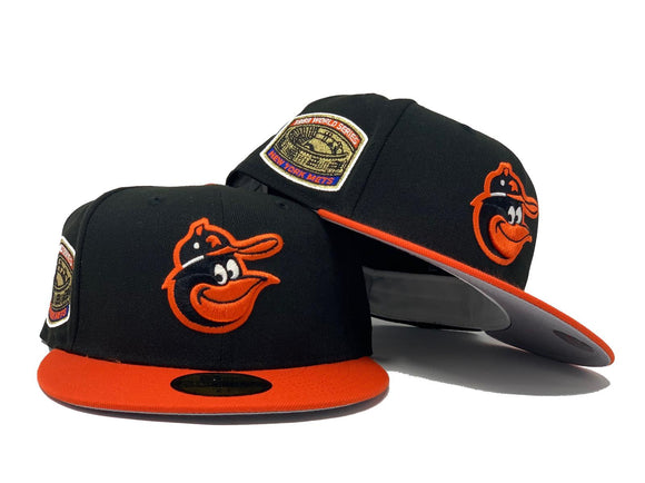 BALTIMORE ORIOLES 1969 WORLD SERIES GRAY BRIM NEW ERA FITTED HAT