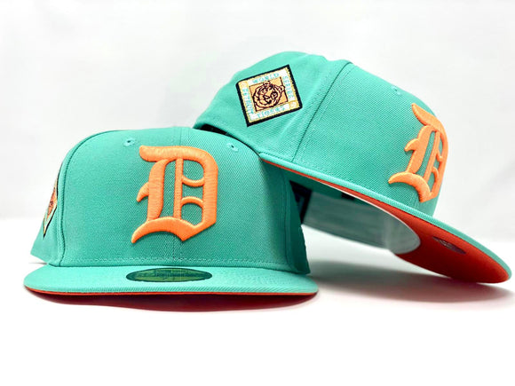 DETROIT TIGERS 1945 WORLD SERIES CLEAR MINT ORANGE BRIM NEW ERA FITTED HAT