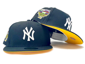 "NEW YORK YANKEES 2006 ALL STAR GAME "" PITTRBURGH PIRATES COLORWAYS"" YELLOW BRIM NEW ERA FITTED HAT"