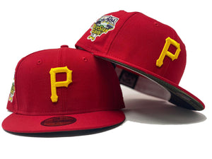 PITTSBURGH PIRATES 2006 ALL STAR GAME RED CAMO BRIM NEW ERA FITTED HAT