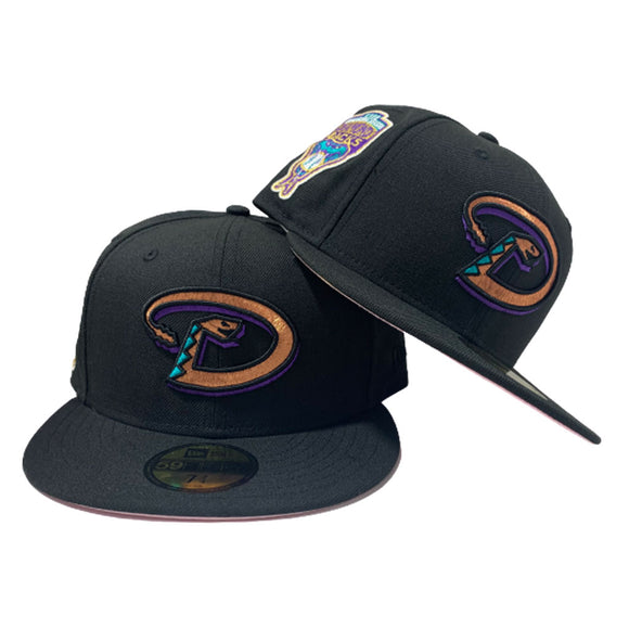 ARIZONA DIAMON BACKS 1998 INAUGURAL SEASON NEW ERA FITTED HAT