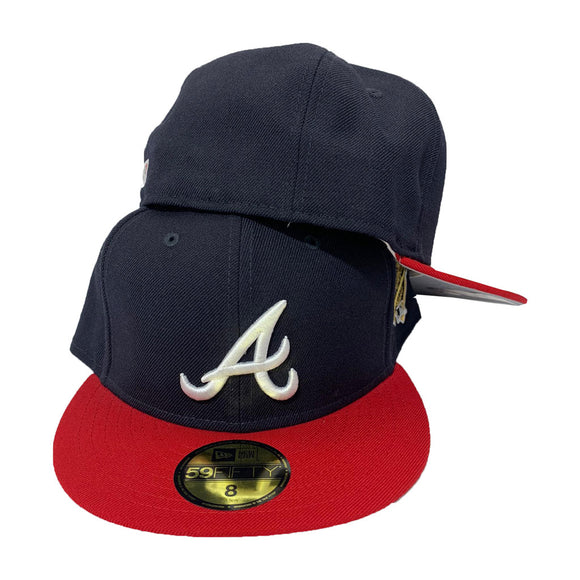 ATLANTA BRAVE 1995 WORLD SERIES NEW ERA 59FIFTY FITTED CAP