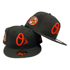 Baltimore Orioles Black New Era 59Fifty Fitted Cap