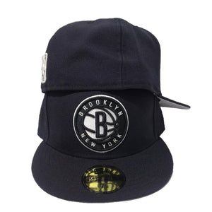 Brooklyn Nets Navy New Era Fitted cap