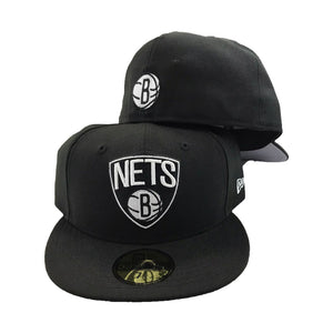 Brooklyn Nets Triangle logo New Era Fitted Hat