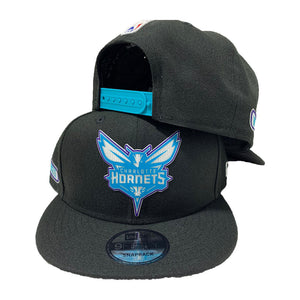 CHARLOTTE HORNETS 9FIFTY NEW ERA SNAPBACK CAP