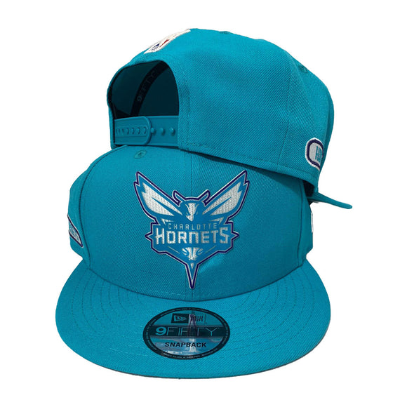 CHARLOTTE HORNETS NEW ERA 9FIFTY SNAPBACK CAP