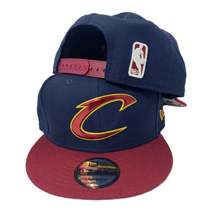 CLEVELAND CAVALIERS LIQUID CHROME LOGO NEW ERA 9FIFTY SNAPBACK CAP