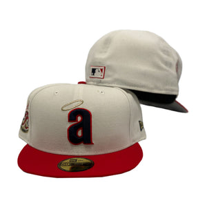 California Angels 35th Anniversary White New Era 59Fifty Fitted Hat