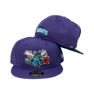 Charlotte Hornets Purple New Era Fitted Hat