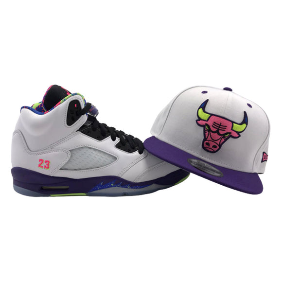 Chicago Bulls New Era Snapback to Match Jordan 5 Alternate Bel-Air