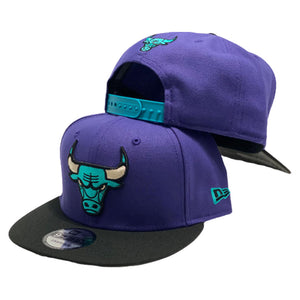 Chicago Bulls New Era Snapback to match Jordan 5 Retro Alternate Grape