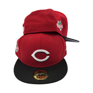 Cincinnati Reds 1990 World Series Wool New Era Fitted hat