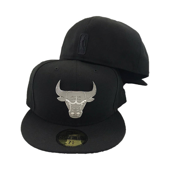 Crystal Chicago Bulls New Era 59Fifty Fitted Hat