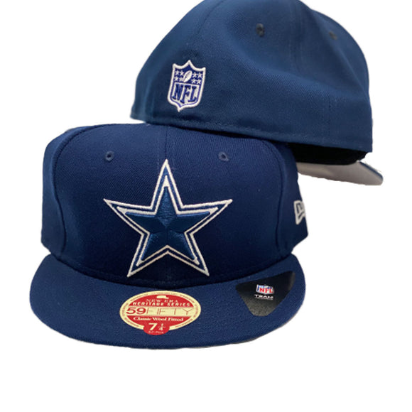 Dallas Cowboys Oceanside Blue New Era 59Fifty Fitted Cap