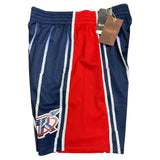 HOUSTON ROCKETS 96-97 MITCHELL AND NESS ROAD NBA SWINGMAN SHORTS