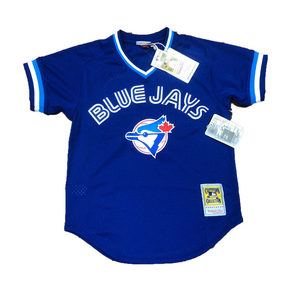 JOE CARTER 1993 AUTHENTIC MESH BP JERSEY TORONTO BLUE JAYS