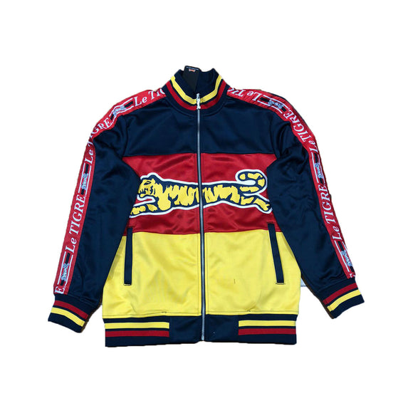 LE TIGRE NAVY/ RED / YELLOW TRI COLOR LIGHT JACKET