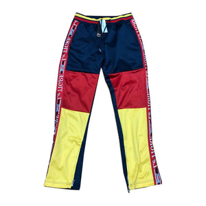 LE TIGRE NAVY/ RED/ YELLOW TRI COLOR TRACK PANT