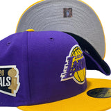 LOS ANGELES LAKERS 2020 NBA FINALS NEW ERA FITTED