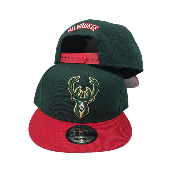 MILWAUKEE BUCKS GUCCI COLOR 9FIFTY NEW ERA SNAPBACK CAP