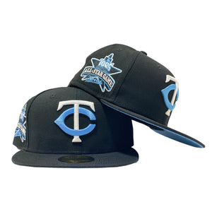 MINNESOTA TWINS 1985 ALL STAR ICY BRIM NEW ERA FITTED HAT