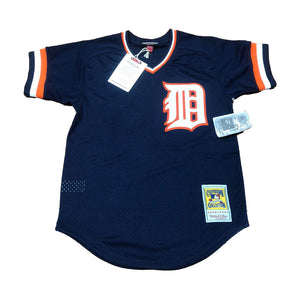 MITCHELL AND NESS DETROIT TIGERS KIRK GIBSON 1984 AUTHENTIC BATTING PRACTICE JERSEY