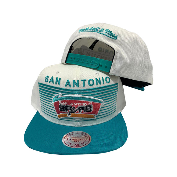 MITCHELL AND NESS NBA CONCORD SAN ANTONIO SPURS SNAPBACK