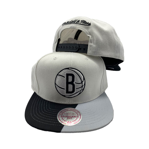 MITCHELL AND NESS NBA FLORIDIAN INSPIRED BROOKLYN NETS SNAPBACK