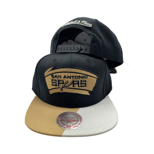 MITCHELL AND NESS NBA FLORIDIAN INSPIRED SAN ANTONIO SPURS SNAPBACK