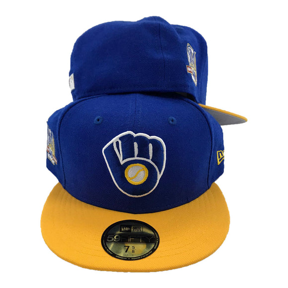 Milwaukee Brewers 40th Seasons New Era Fitted Hat