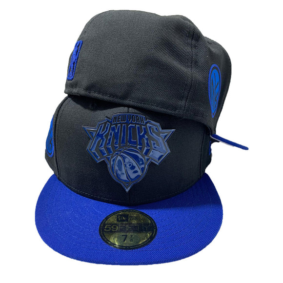 NEW YORK KNICKS 59FIFTY NEW ERA TWO TONE WITH METAL LOGO