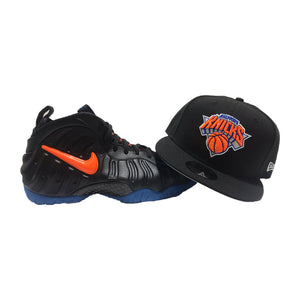 NEW YORK KNICKS SNAPABCK HAT FOR NIKE FOAMPOSITE PRO KNICKS