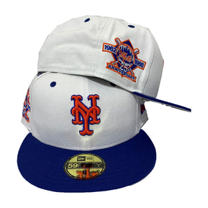 NEW YORK METS 1986 WORLD SERIES WHITE NEW ERA 59FIFTY FITTED CAP