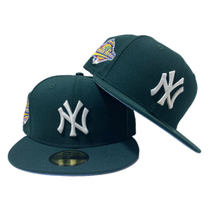 NEW YORK YANKEE ALL GREEN 1996 WORLD SERIES NEW ERA FITTED HAT