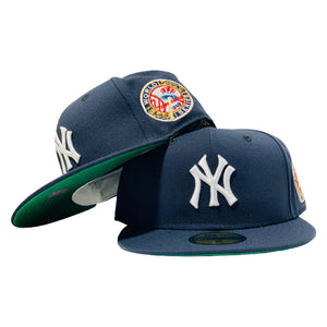 NEW YORK YANKEES 1949 WORLD GREEN BRIM NEW ERA FITTED HAT