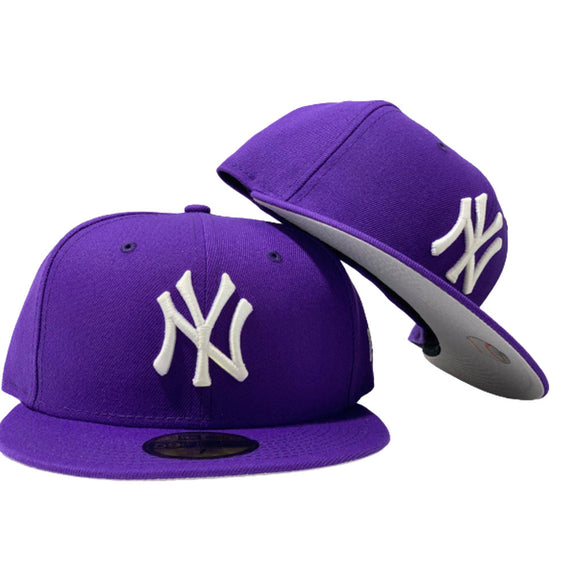 NEW YORK YANKEES PURPLE NEW ERA FITTED