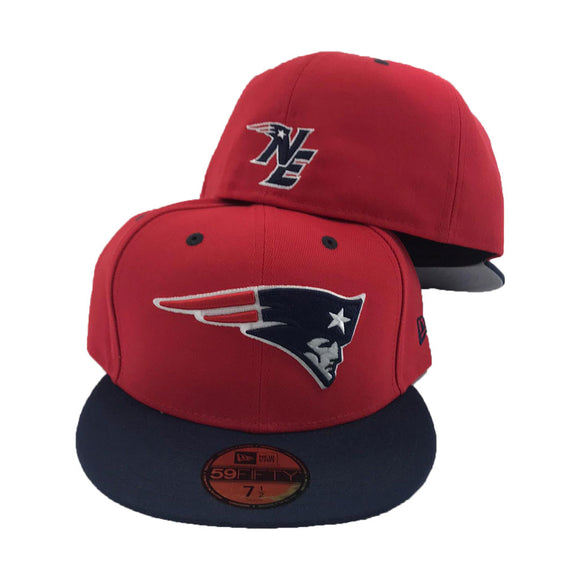 New England Patriots 2Tone 59Fifty New Era Fitted Hat