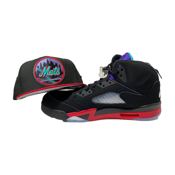 New York Mets New Era Fitted to Match Jordan Retro 5